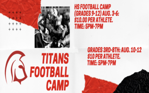 Football Camp Information